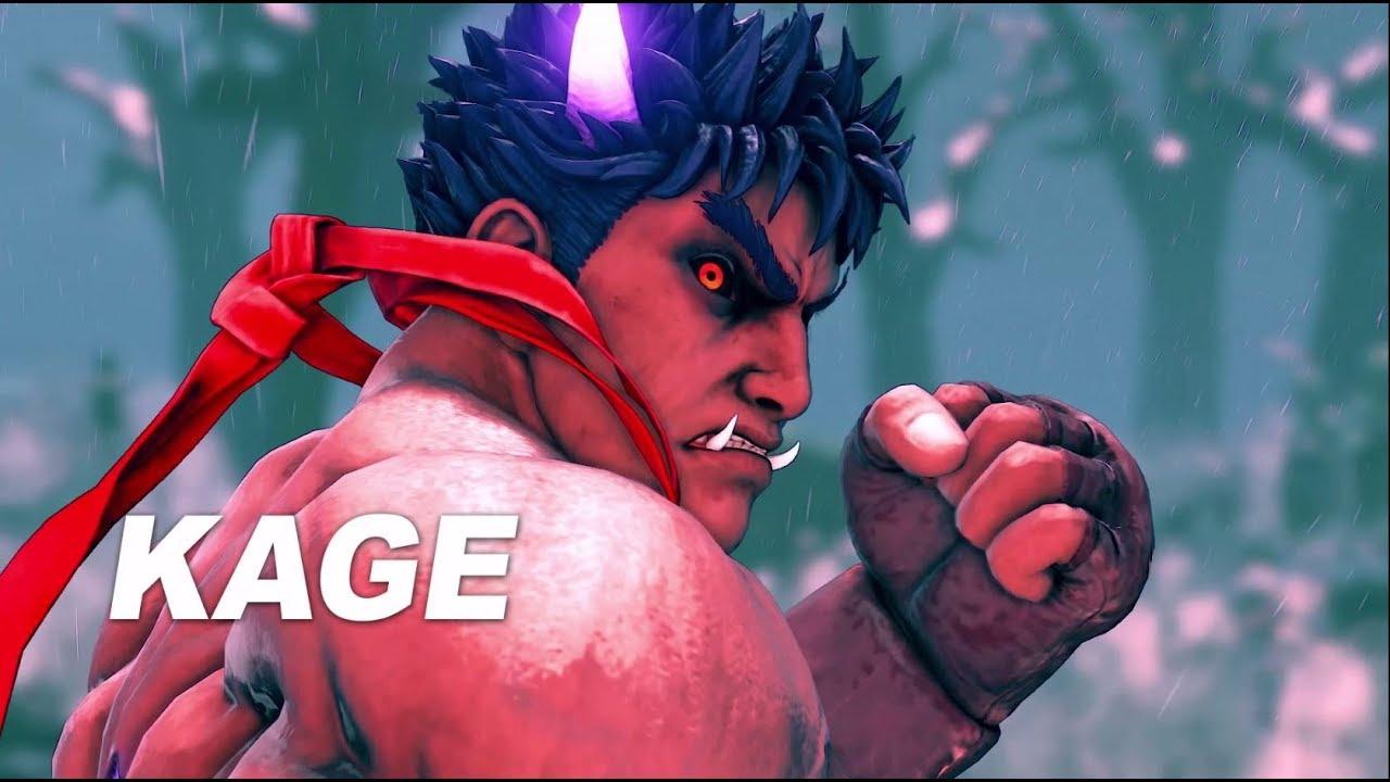 Kage marca o início da 4ª temporada de lutadores de Street Fighter V