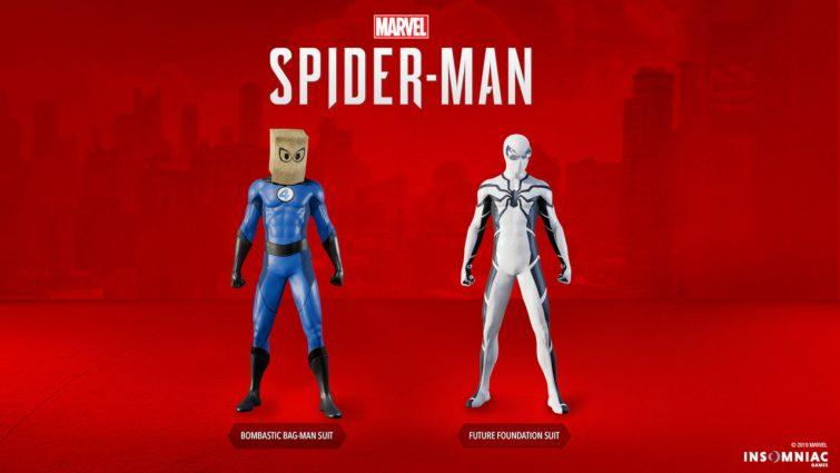 Quarteto Fantástico inspira DLC de Spider-Man