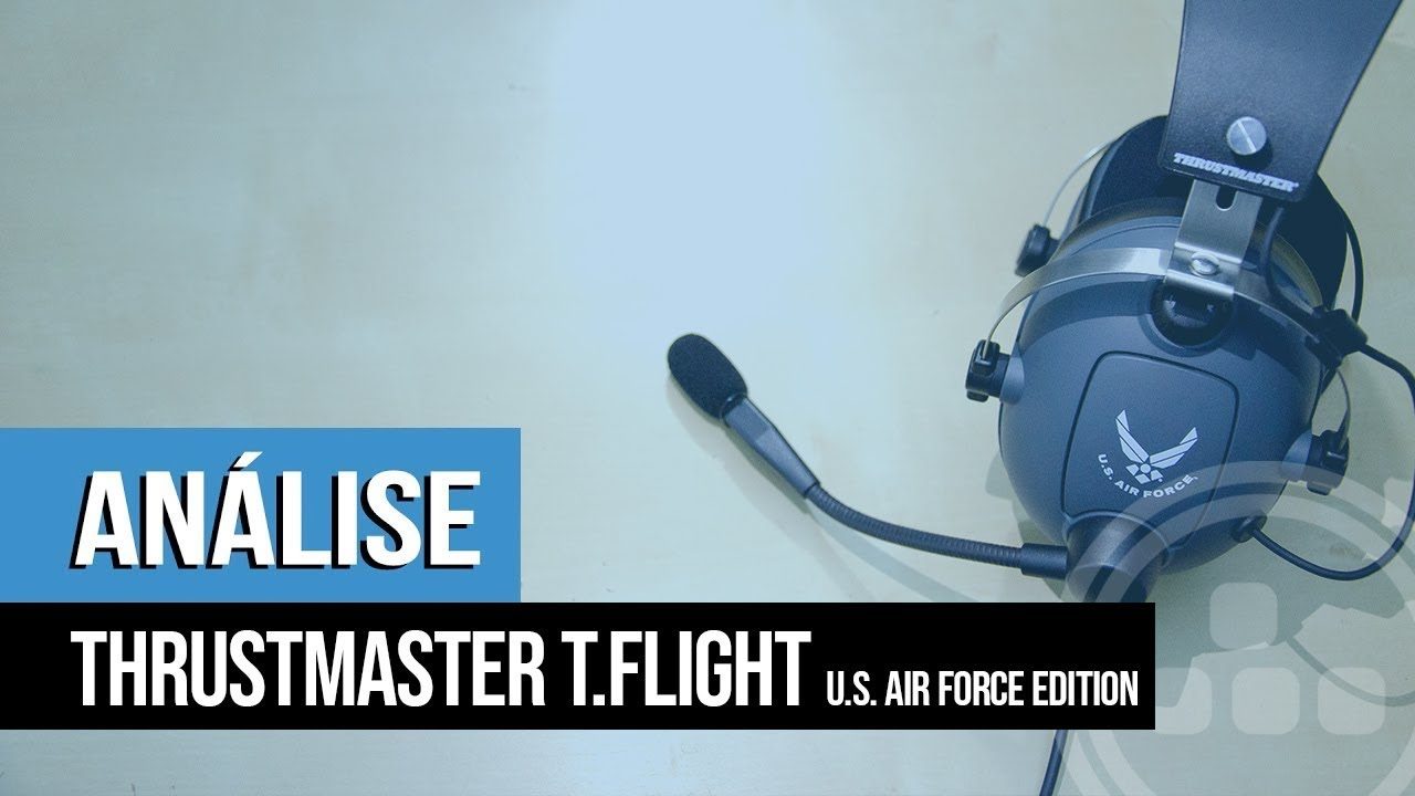 Análise – Thrustmaster T.Flight: U.S. Air Force Edition