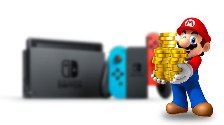 Nintendo Switch alcança as 37 milhões de unidades vendidas