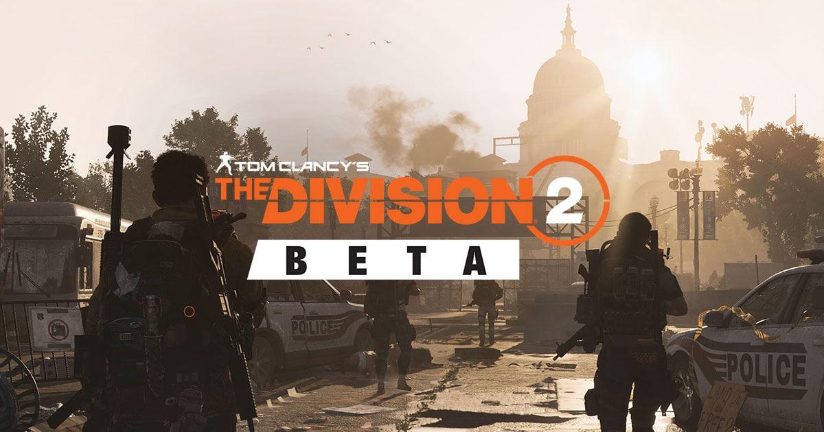 Conteúdo da Open Beta de The Division 2