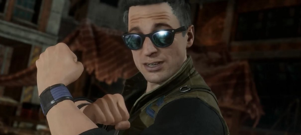Johnny Cage regressa em Mortal Kombat 11