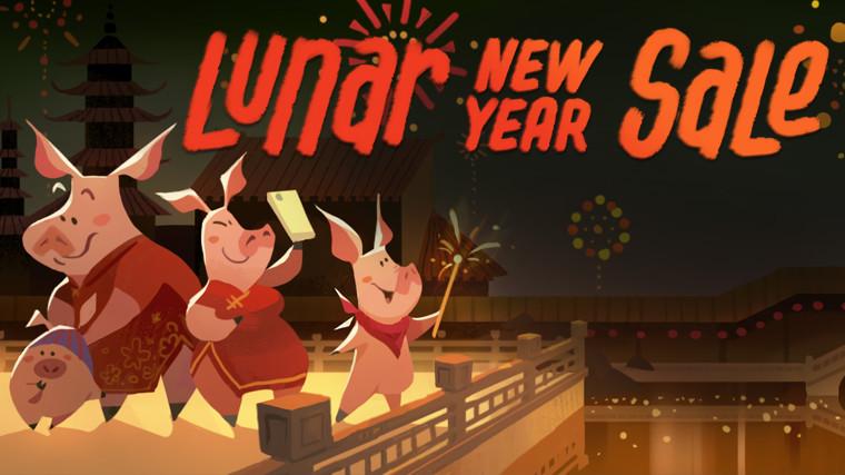 Saldos do novo ano Lunar no Steam