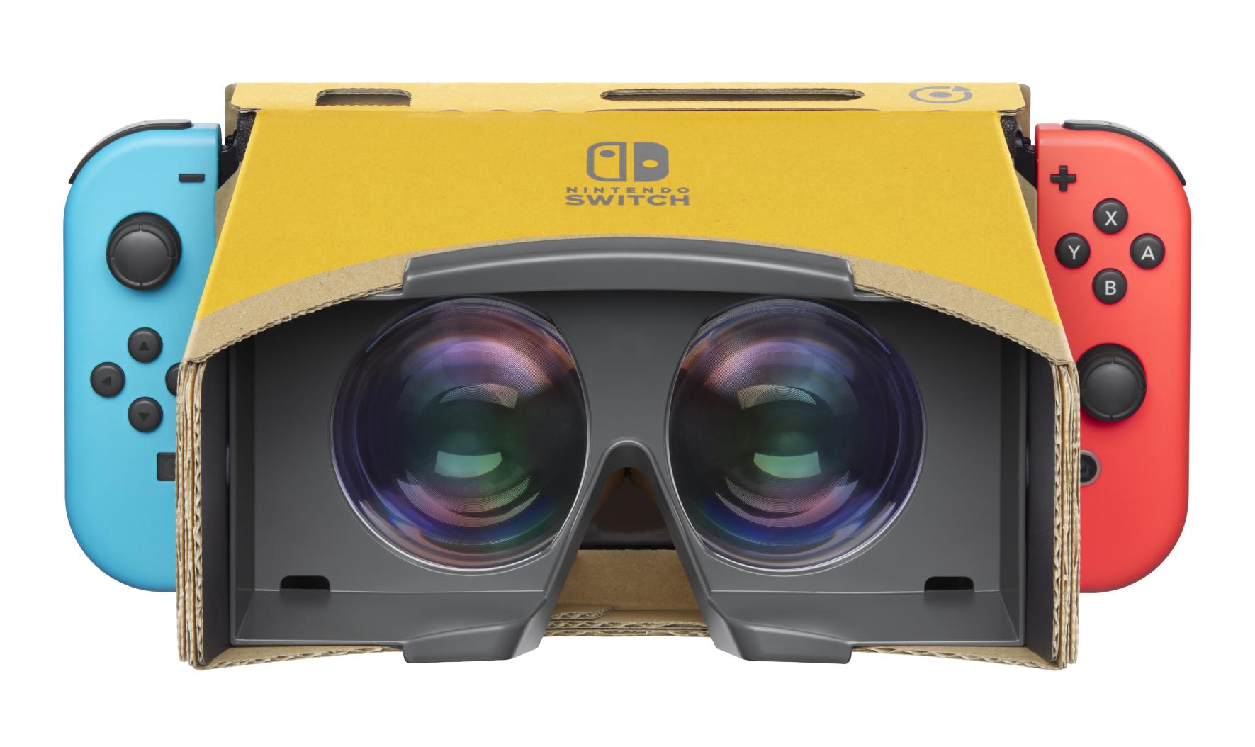 Nintendo revela kit de Realidade Virtual para a Switch