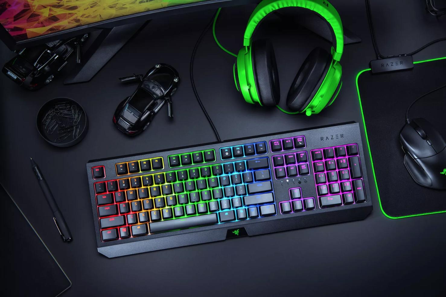 Razer lança teclado, rato e auscultadores com preço mais acessível