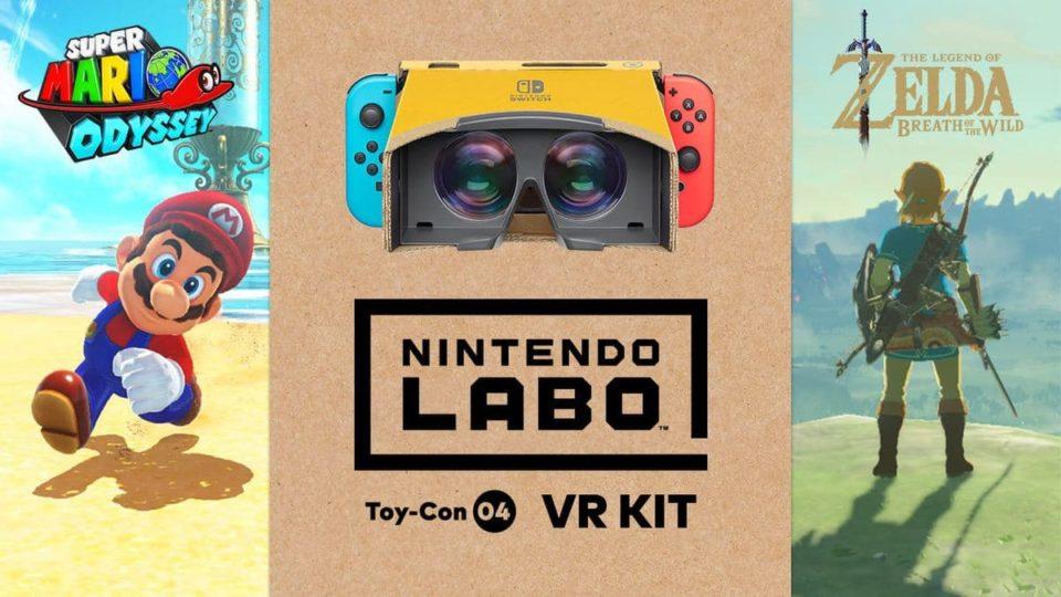 Breath of the Wild e Super Mario Odyssey vão receber modo VR