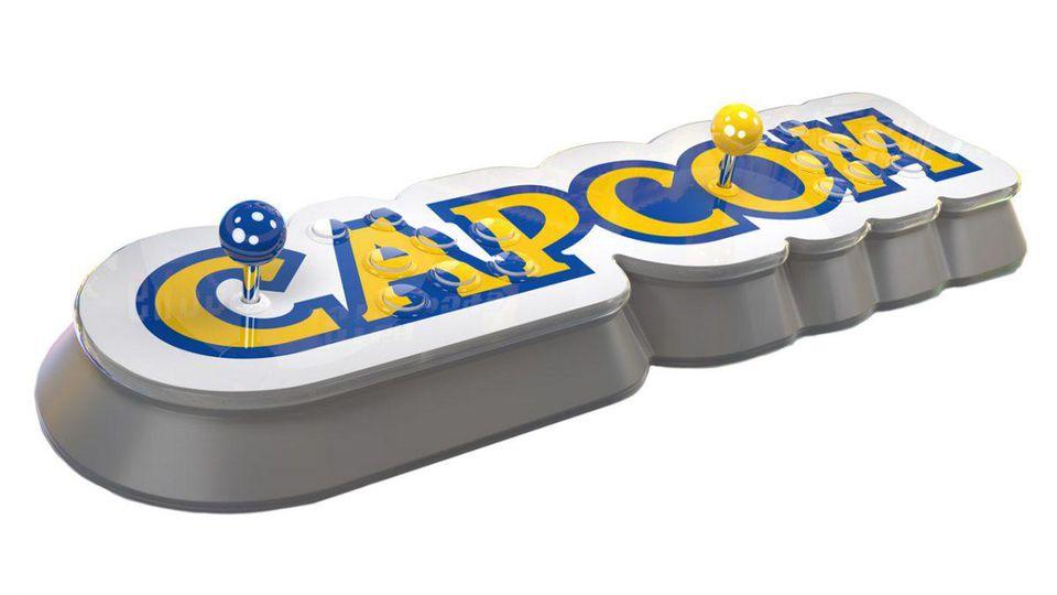 Capcom anuncia o seu Arcade Stick com 16 jogos incluídos