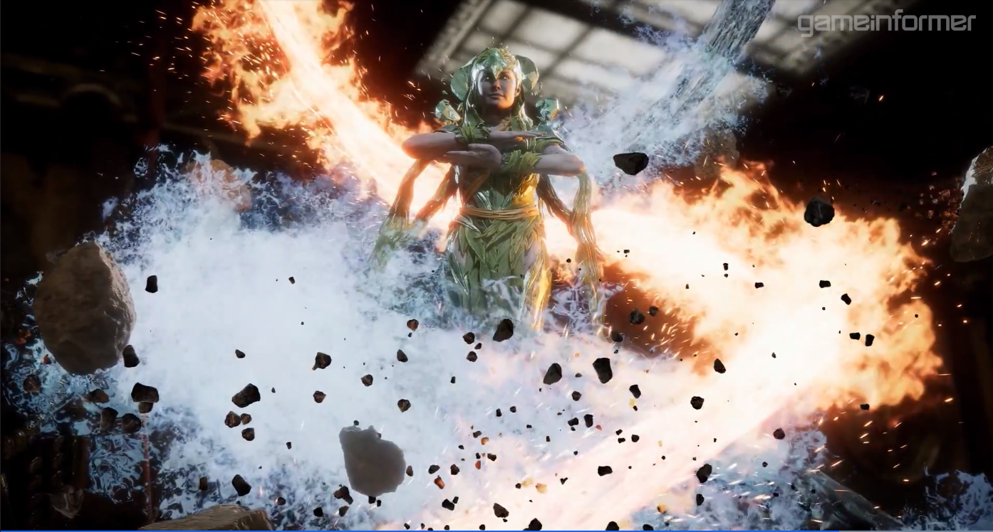 Mortal Kombat 11 apresenta Cetrion, uma personagem inédita
