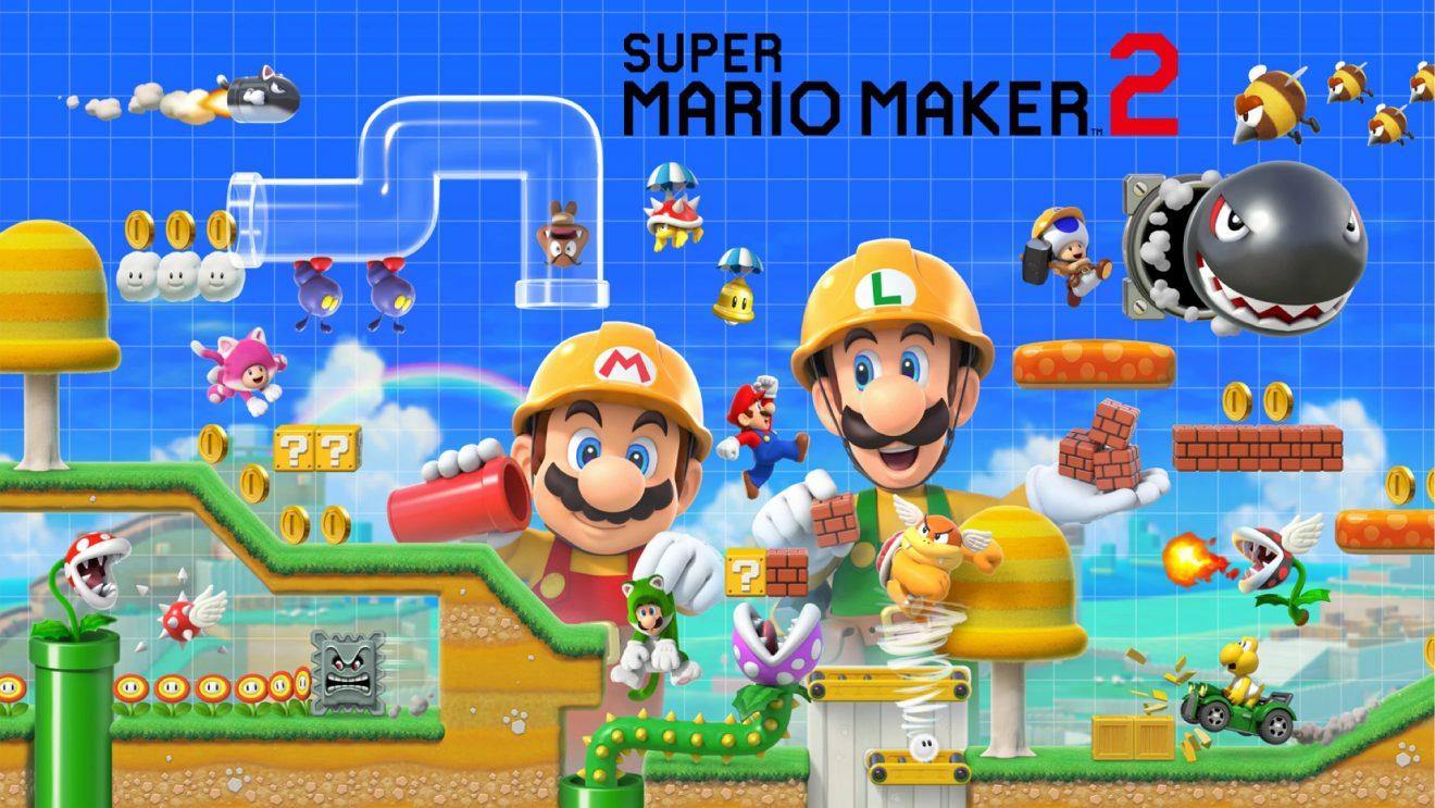 Super Mario Maker 2 da Switch já tem data de lançamento