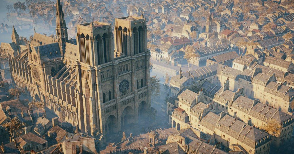 Assassin's Creed poderá ajudar na reconstrução de Notre Dame
