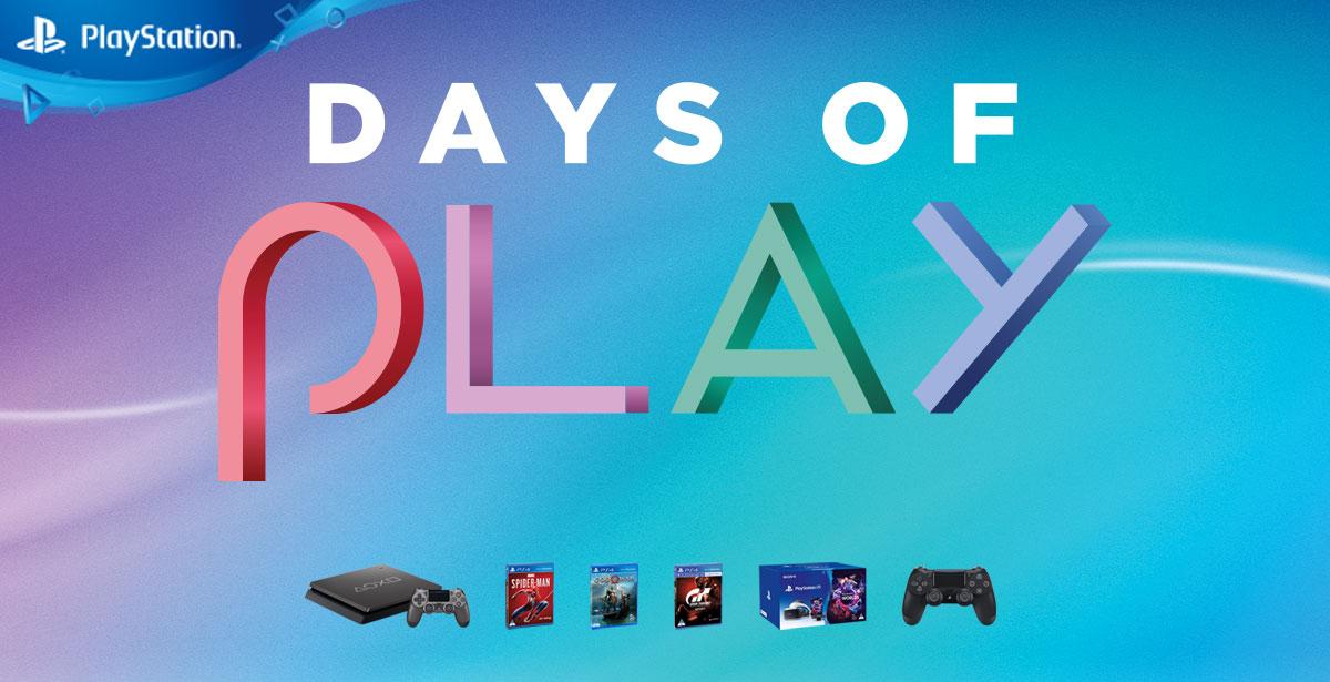 Days of Play regressa com imensas promoções