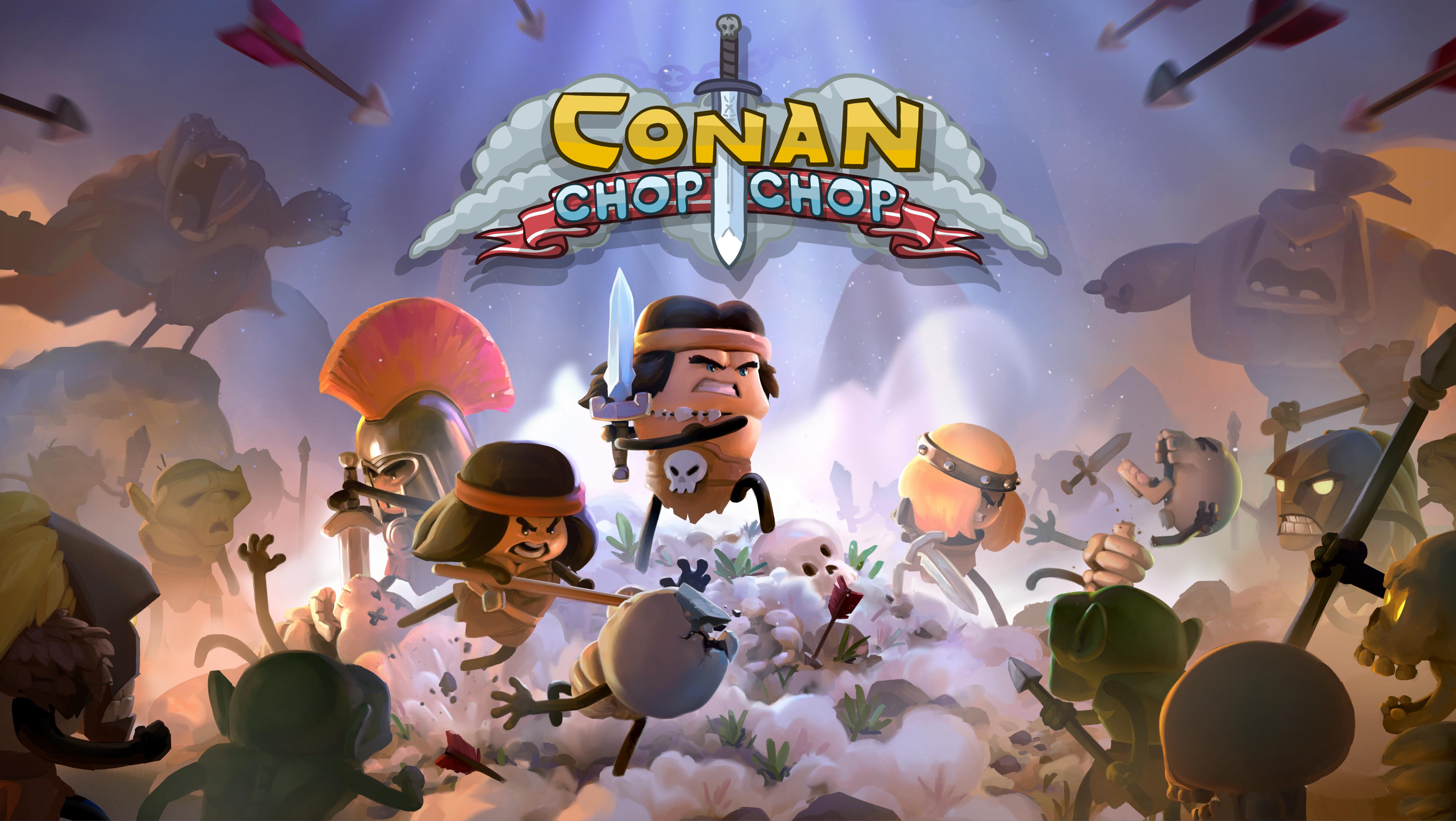 Conan: Chop Chop, afinal, não é piada de 1 de Abril