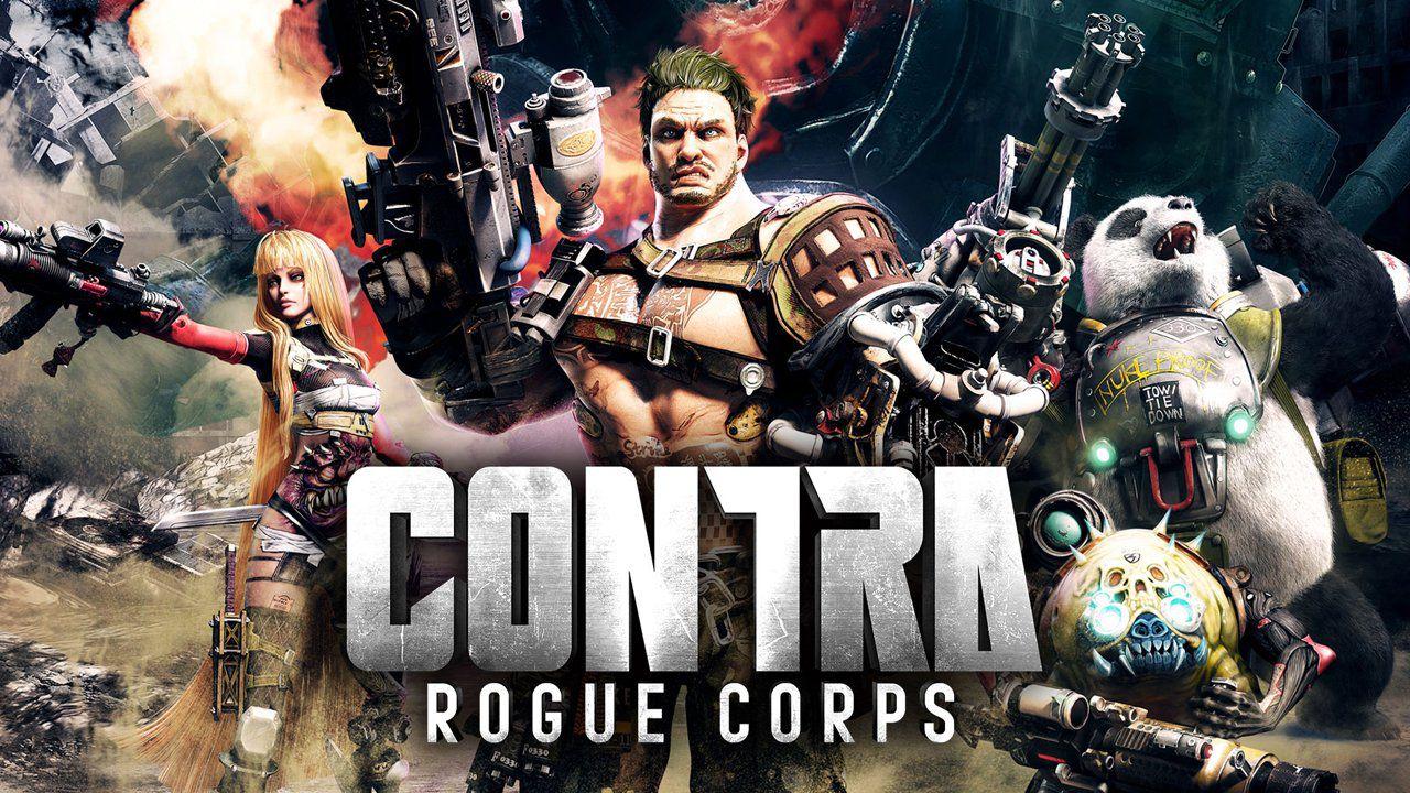 Konami anuncia novo Contra: Rogue Corps