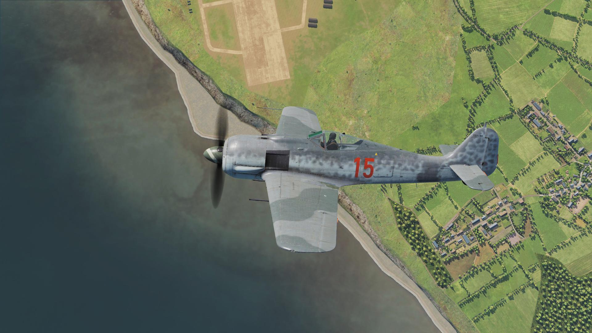 """Simuladores – DCS: FW-190 A-8 """"Anton"""""""