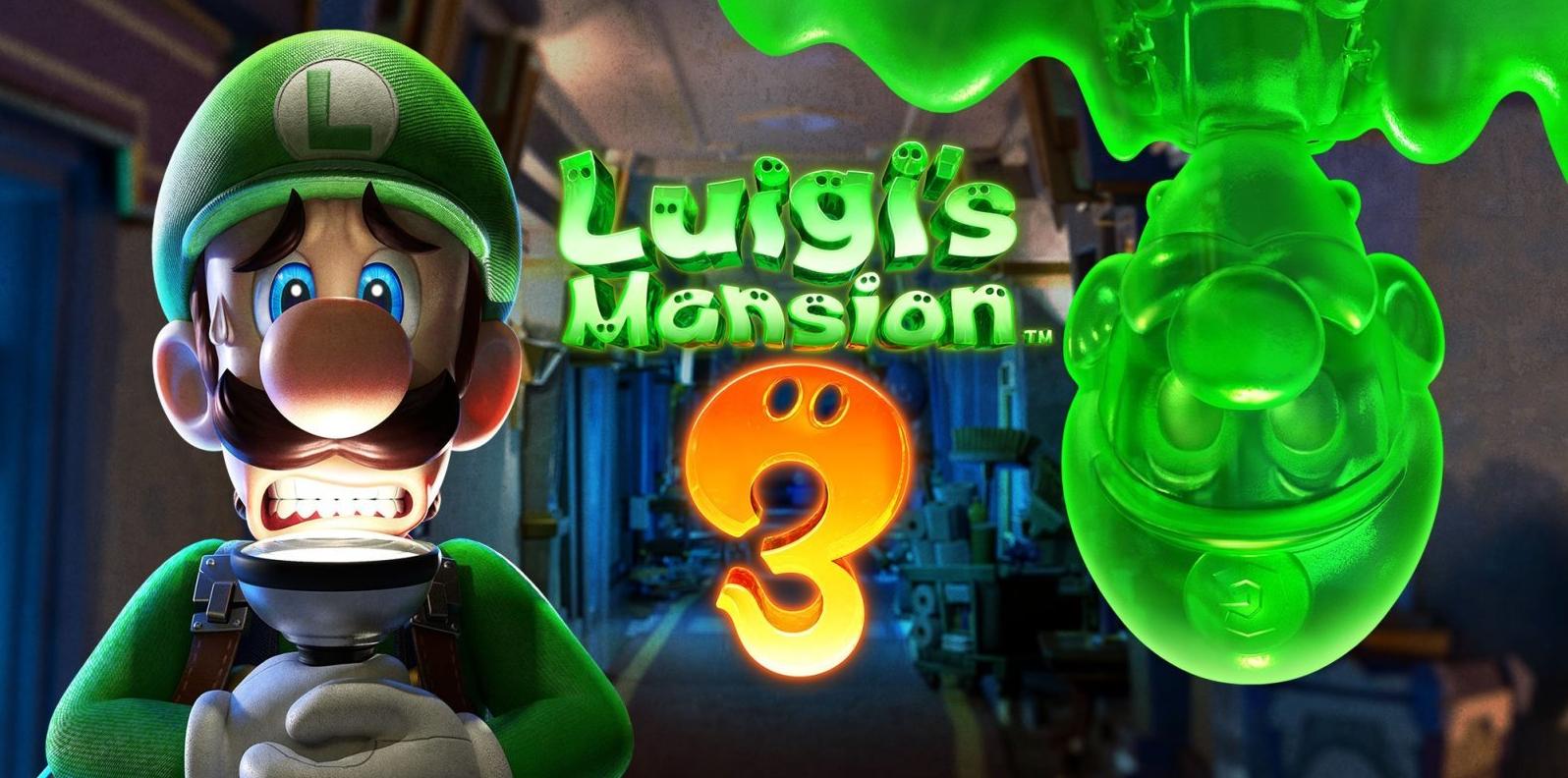 Luigi's Mansion 3 recebe novo trailer