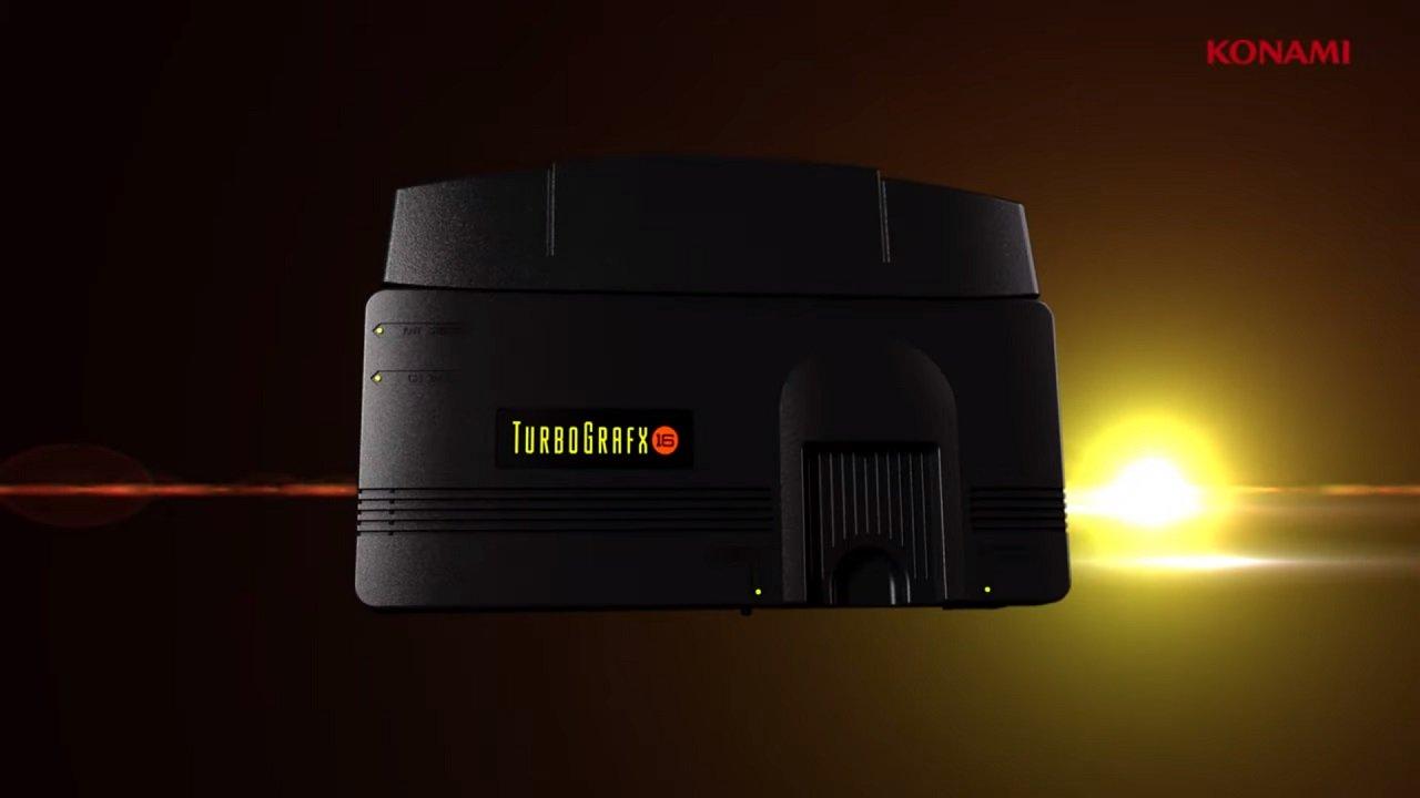 TurboGrafx-16 recebe uma versão em miniatura.