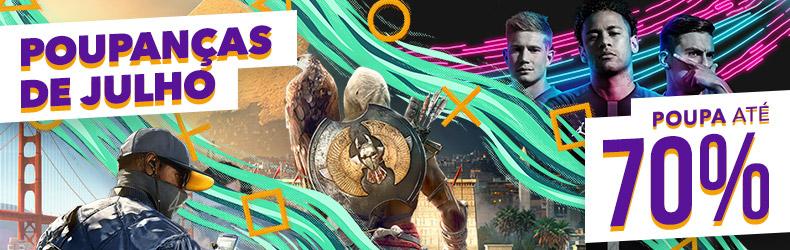 Novos saldos de Verão na PlayStation Store