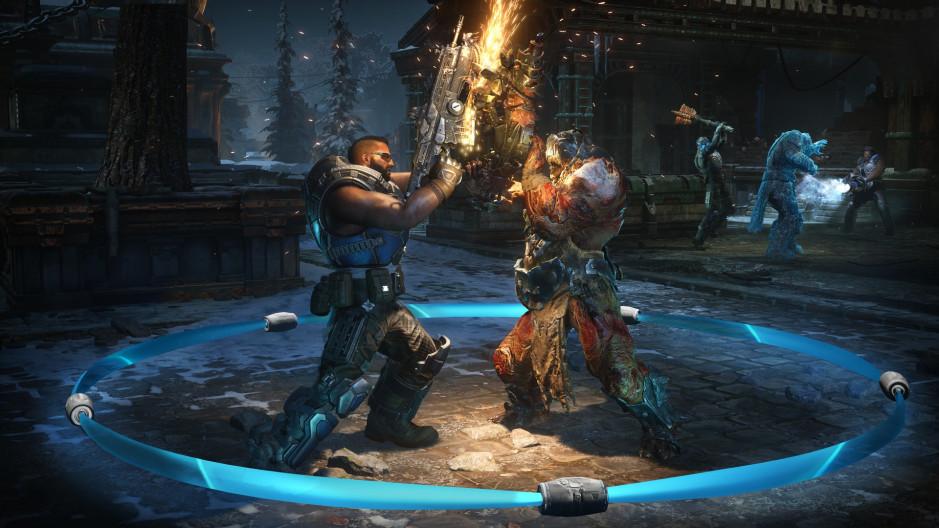 Novidades no modo Escalation em Gears of War 5