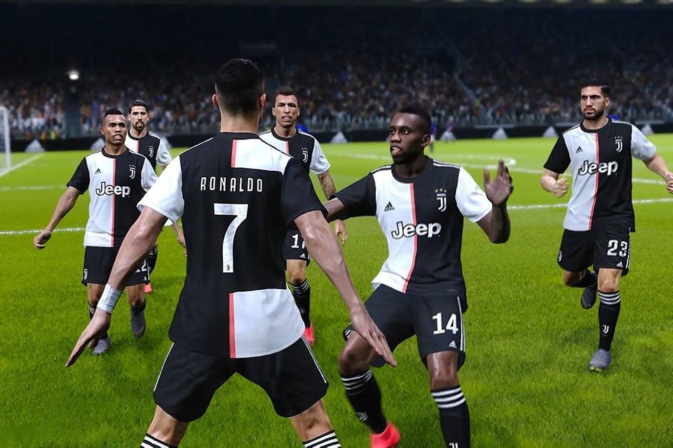 Juventus assina exclusividade com PES 2020