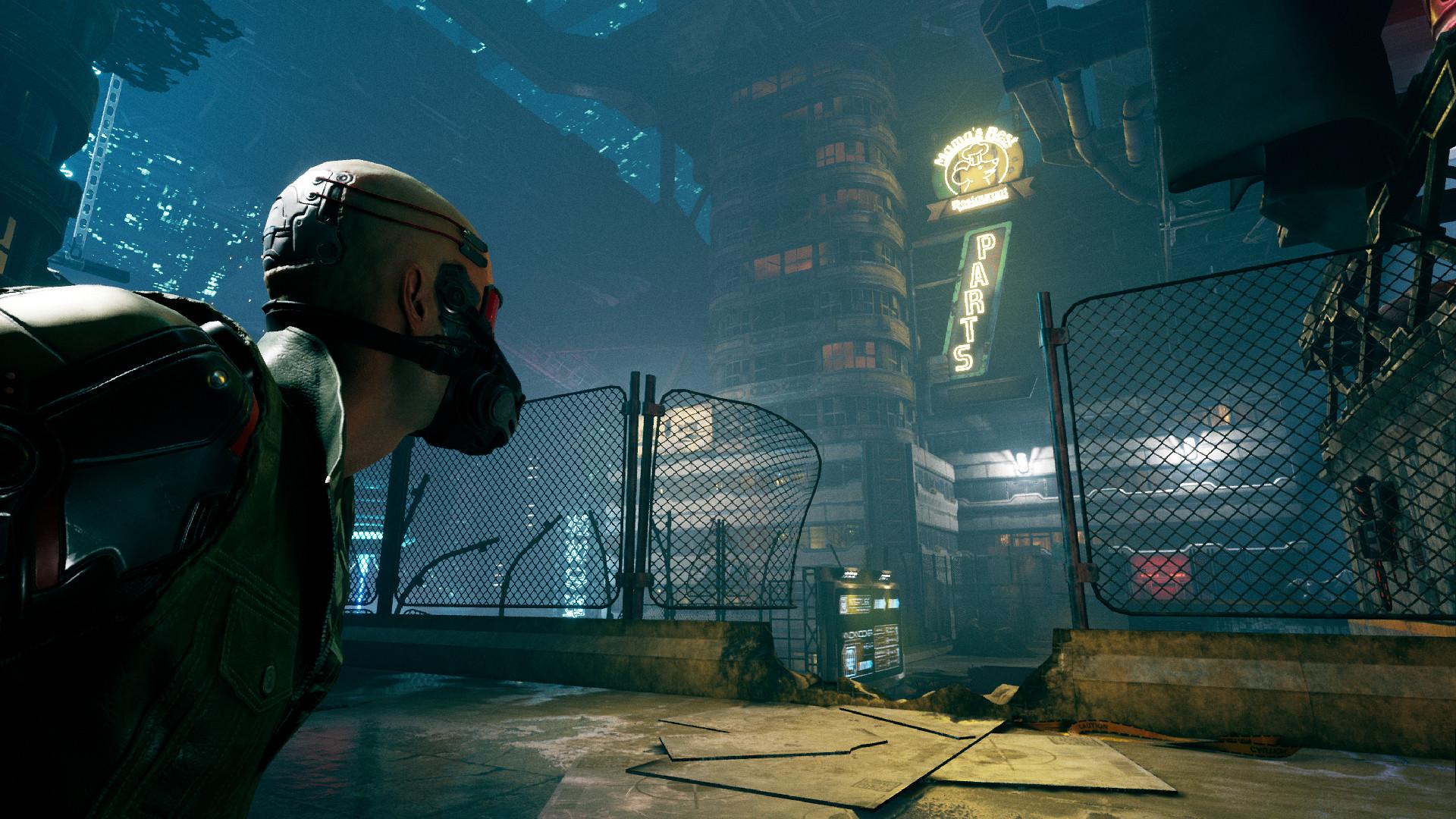 Demonstração de Ghostrunner disponível no PC - WASD