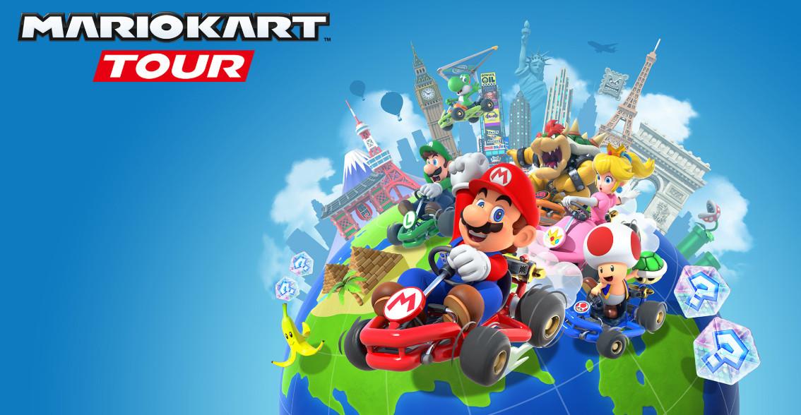Mario Kart a caminho do vosso telemóvel
