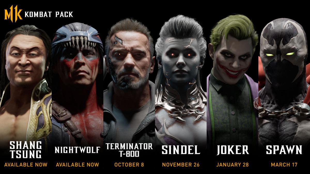 Já foram revelados os novos lutadores de Mortal Kombat 11