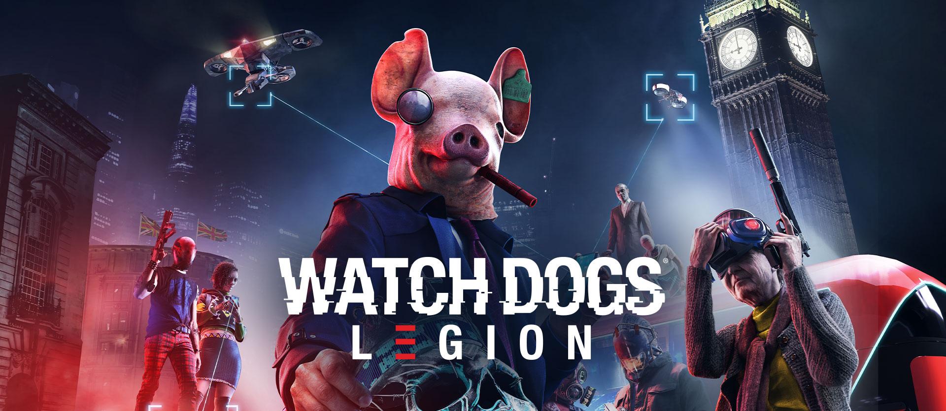 """""""Bem vindos à Resistência"""" de Watch Dogs: Legion"""