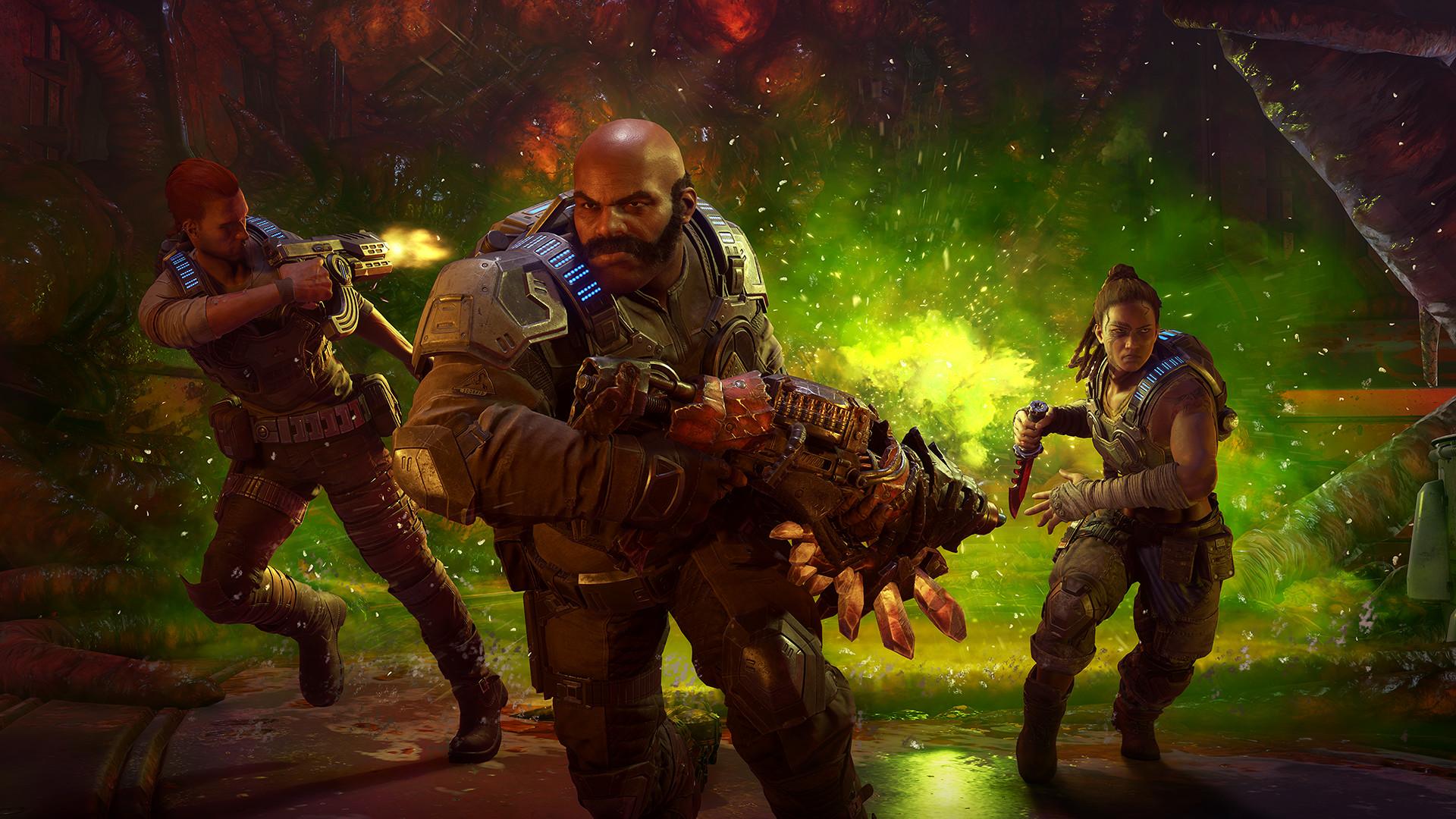 The Coalition recompensa jogadores de Gears 5