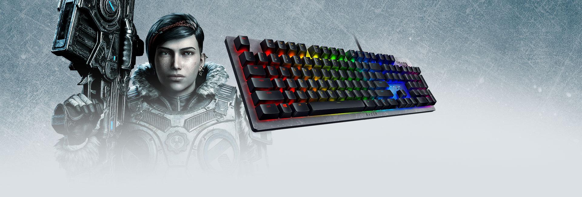 Razer anuncia linha de periféricos para Gears of War 5