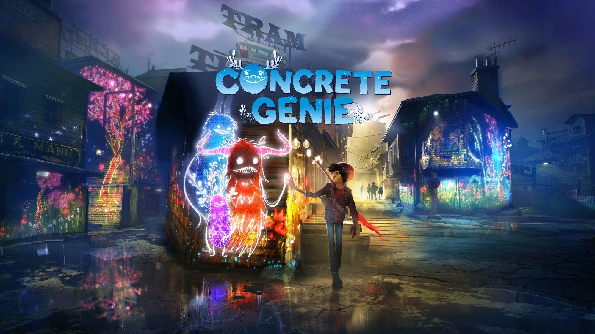 Concrete Genie chega hoje à PlayStation 4