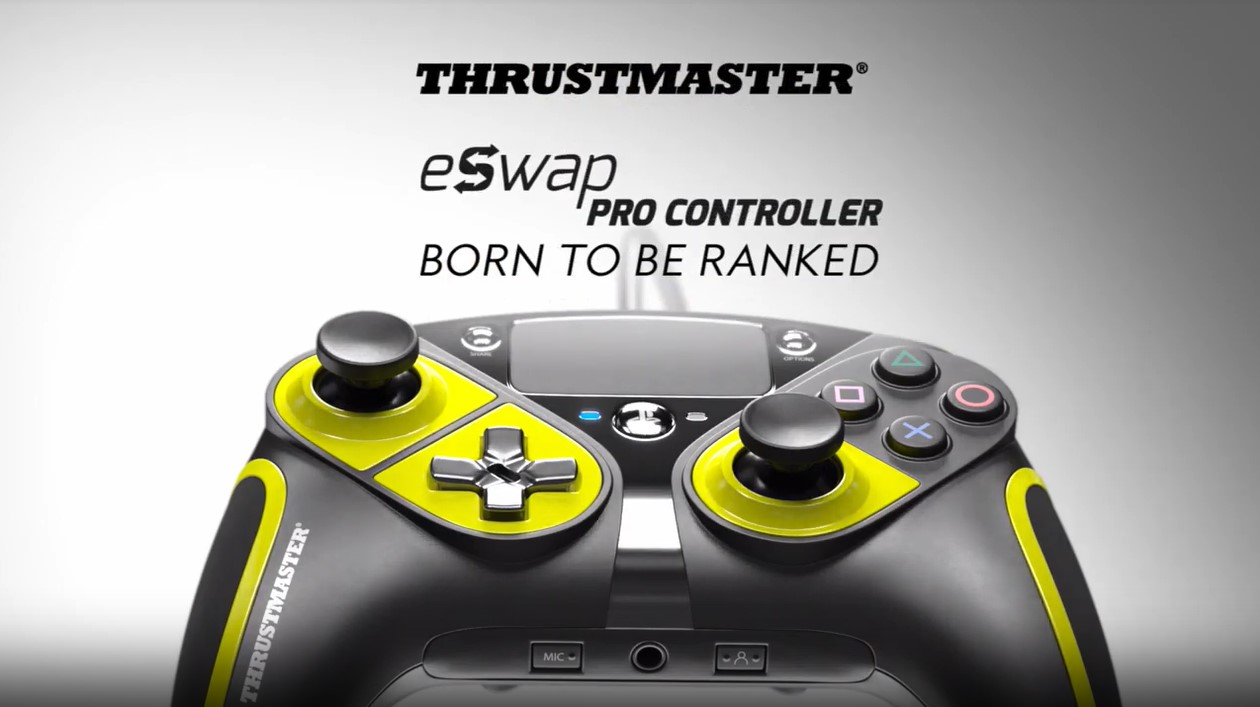 Thrustmaster apresenta eSwap Pro Controller