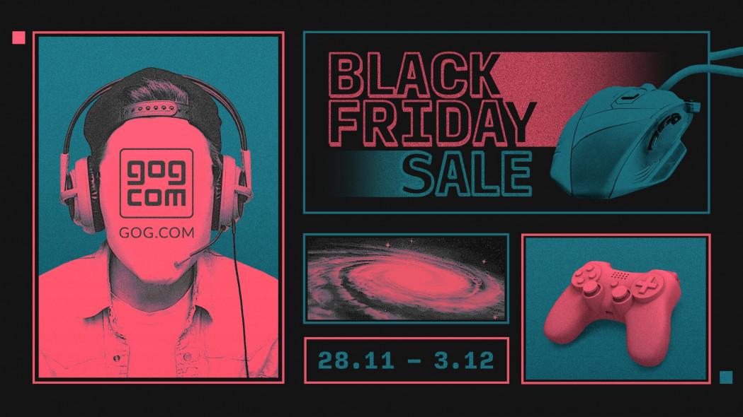 Black Friday – Os descontos do GOG já estão disponíveis