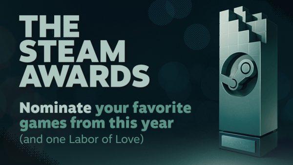 Escolham os jogos do ano no Steam