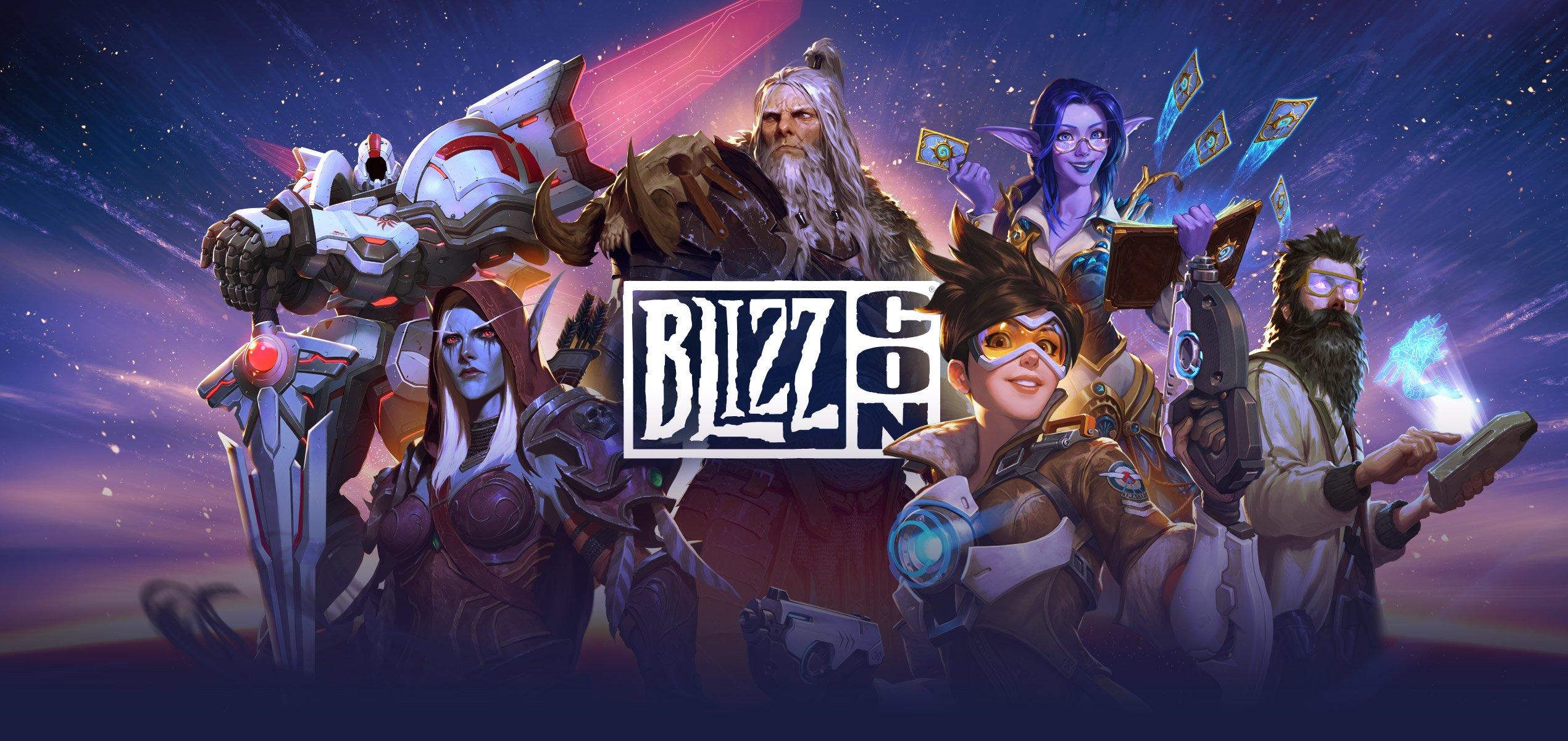 Blizzard revela plano de actividades da BlizzCon 2021