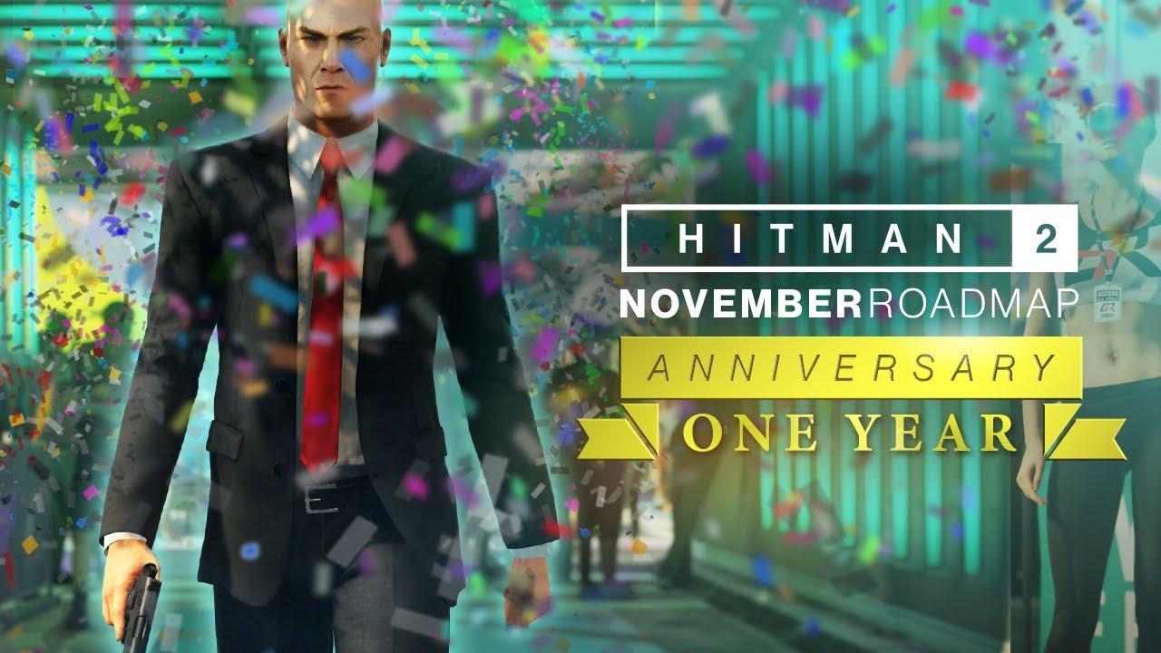 Em Novembro, o conteúdo de Hitman 2 é especial