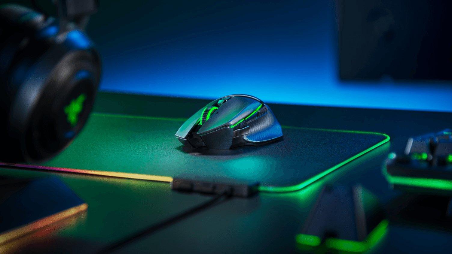 Razer apresenta novos modelos Basilisk, agora sem-fios