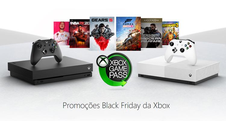 Black Friday – Preços baixos na Microsoft Xbox