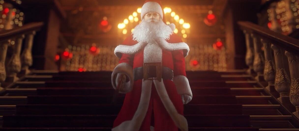 O Pai Natal vai chegar (outra vez) a Hitman 2