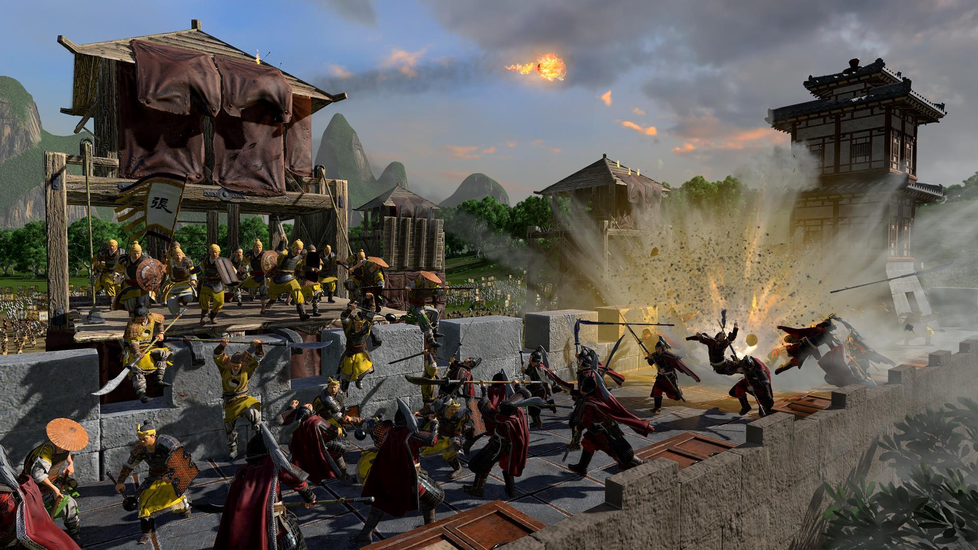 Total War: Three Kingdoms recebe DLC em Janeiro