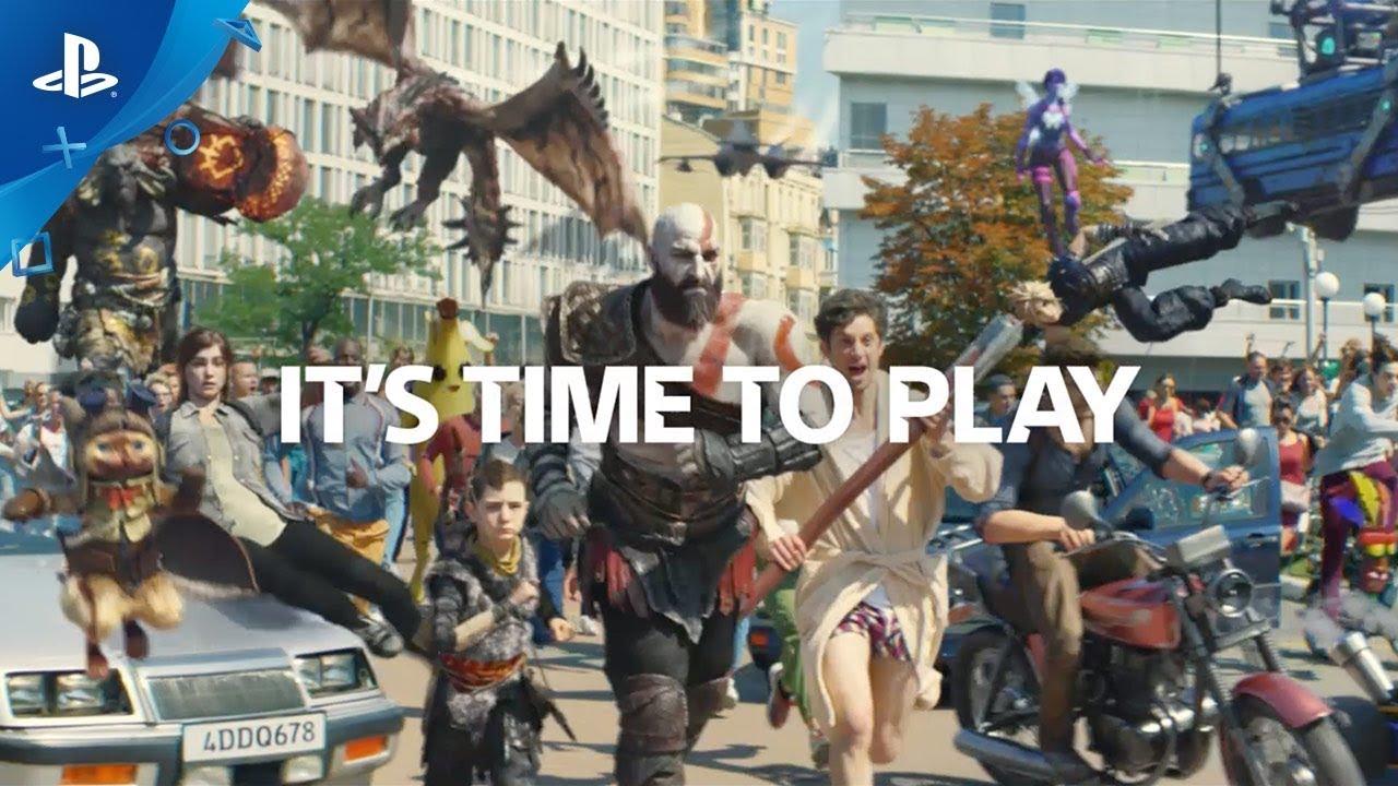 "Slogan da PlayStation muda para ""It's Time to Play"""