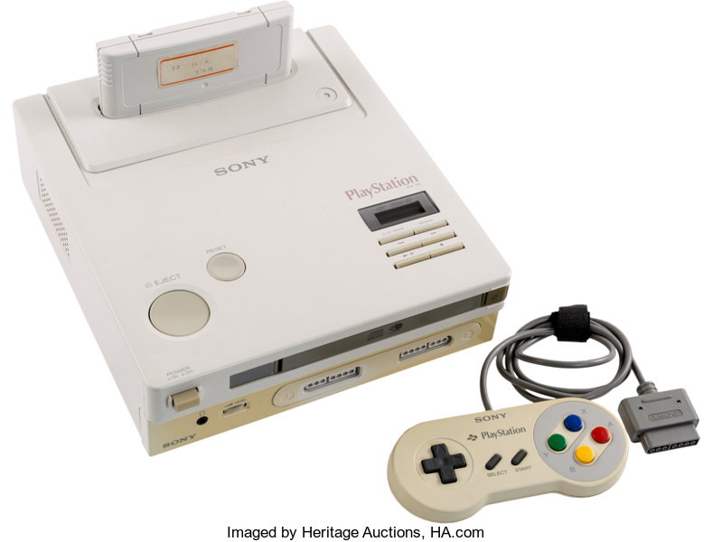 Consola rara Nintendo-PlayStation vendida em leilão