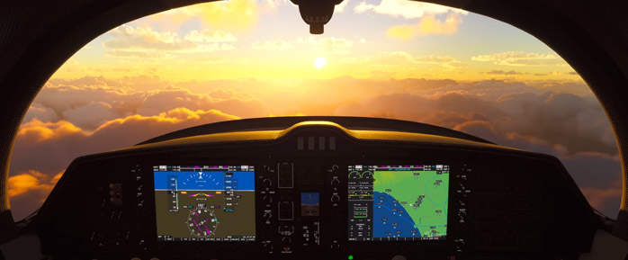 Capturando o som para Microsoft Flight Simulator