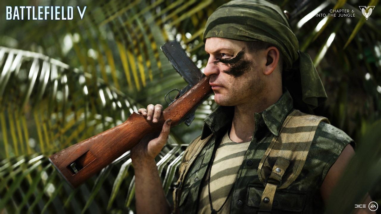 """Battlefield 5 receberá DLC """"Into The Jungle"""" em Fevereiro"""