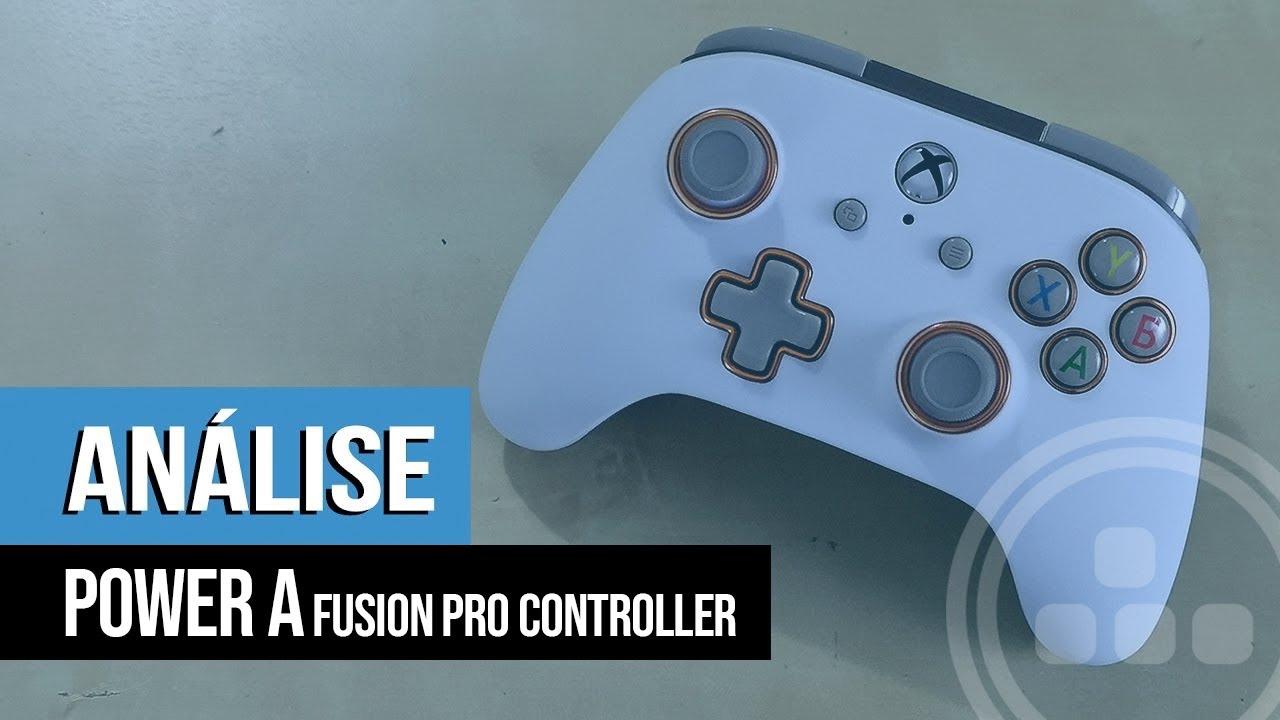 Análise – PowerA Fusion Pro Controller