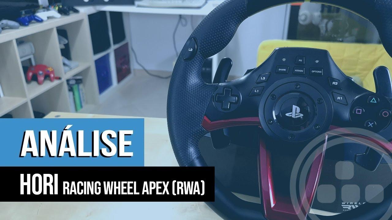 Análise – HORI Racing Wheel Apex (RWA)