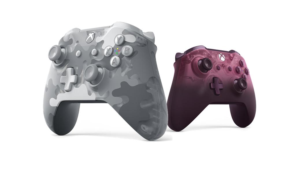 Novos modelos de cores do comando Xbox One