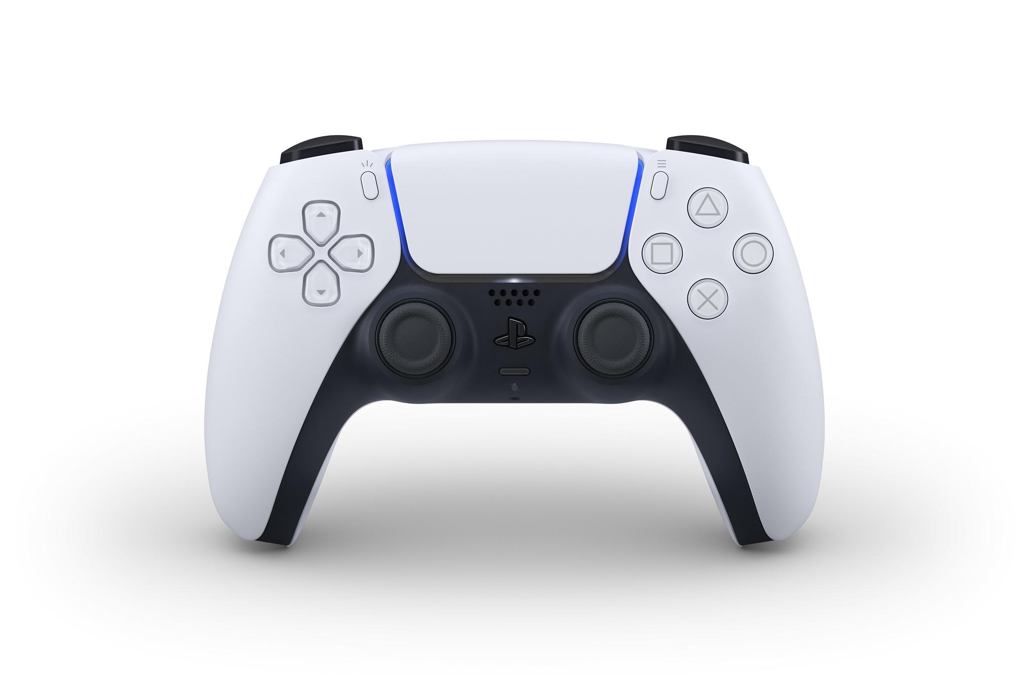 Este é o novo DualSense, o comando da PlayStation 5