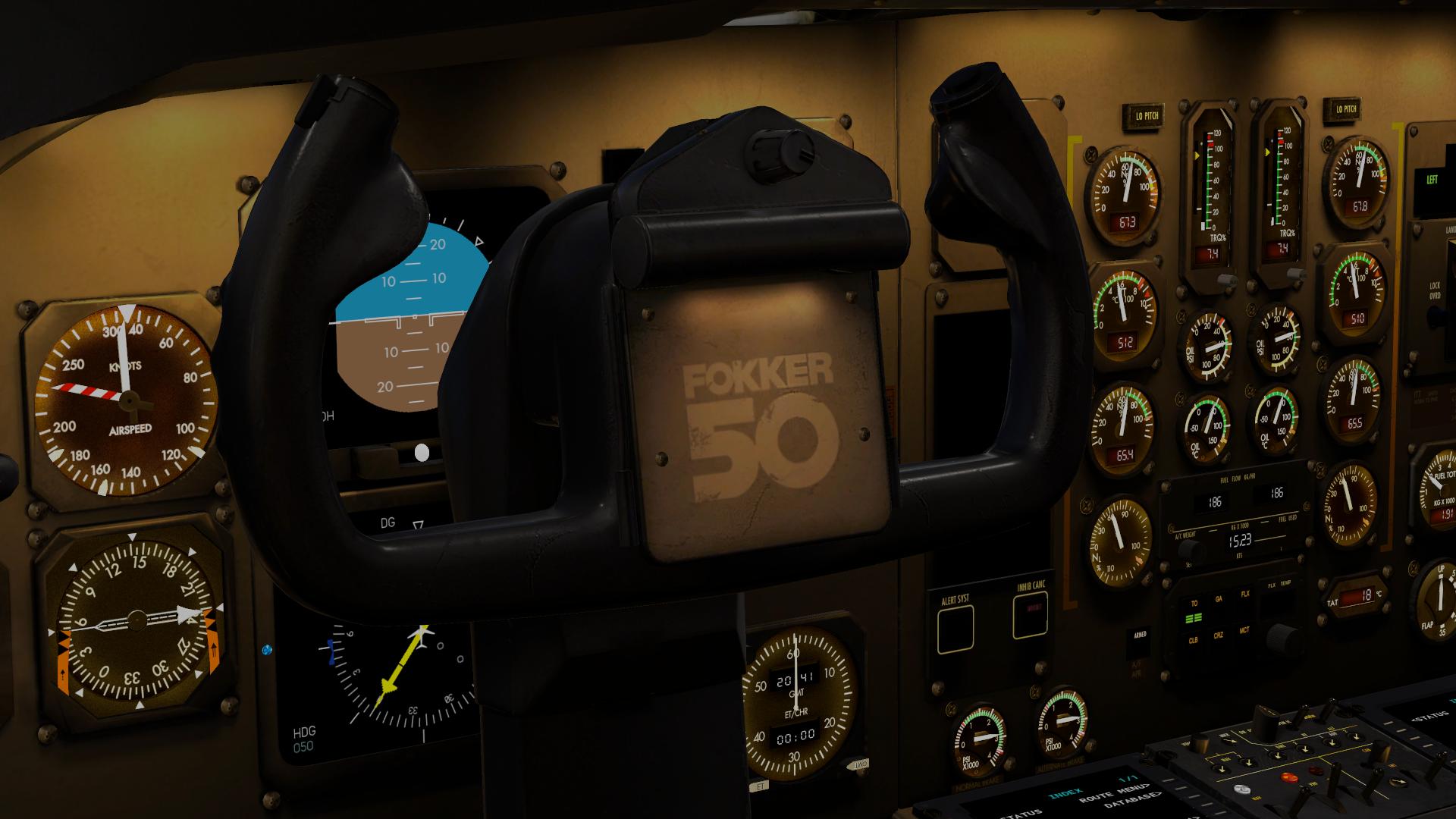 Simuladores – Carenado F50 (XP11)