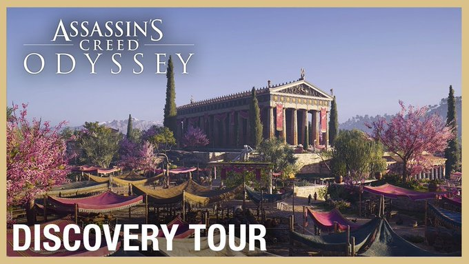 Ubisoft oferece as duas Assassin's Creed Discovery Tours
