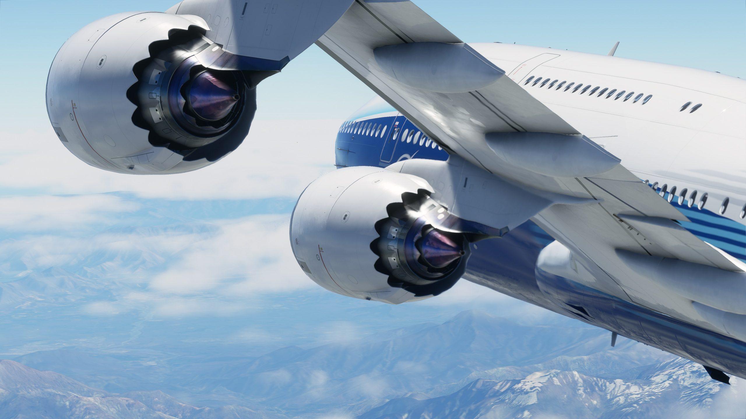 A navegação em Microsoft Flight Simulator